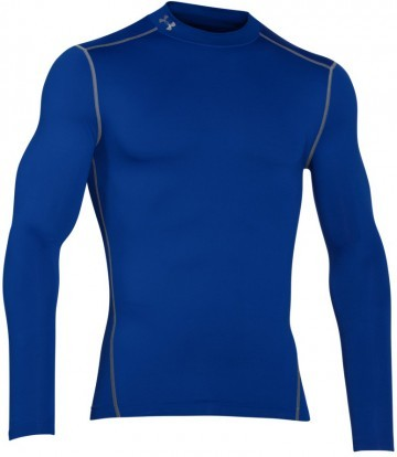 Under Armour Coldgear Armour Compression Mock Blue