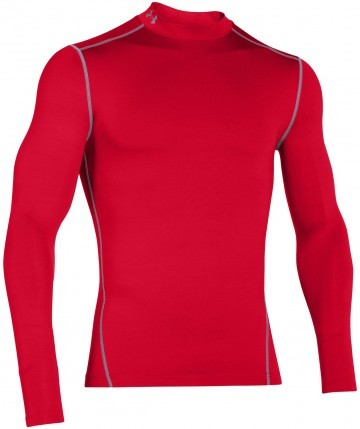 Under Armour ColdGear Armour Mock Red