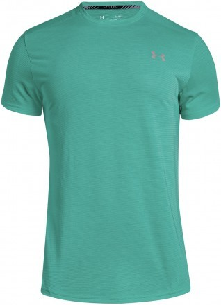 Under Armour Threadborne Streaker Short Sleeve Green