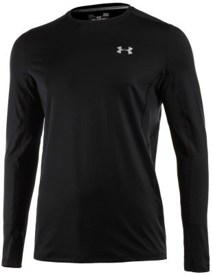koszulka męska Under Armour Coolswitch Run LongSleeve Black