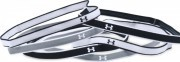 Under Armour Mini Headbands (6pk) Black White