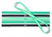 Under Armour Mini Headbands (6pk) Black Green