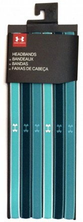 Under Armour Mini Headbands (6pk) Blue