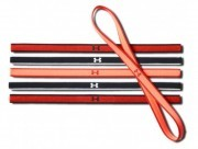 Under Armour Mini Headbands (6pk) Red Orange