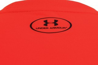 koszulka męska Under Armour Theadborne Fitted Short Sleeve Orange