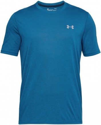 Under Armour Theadborne Fitted Short Sleeve Blue