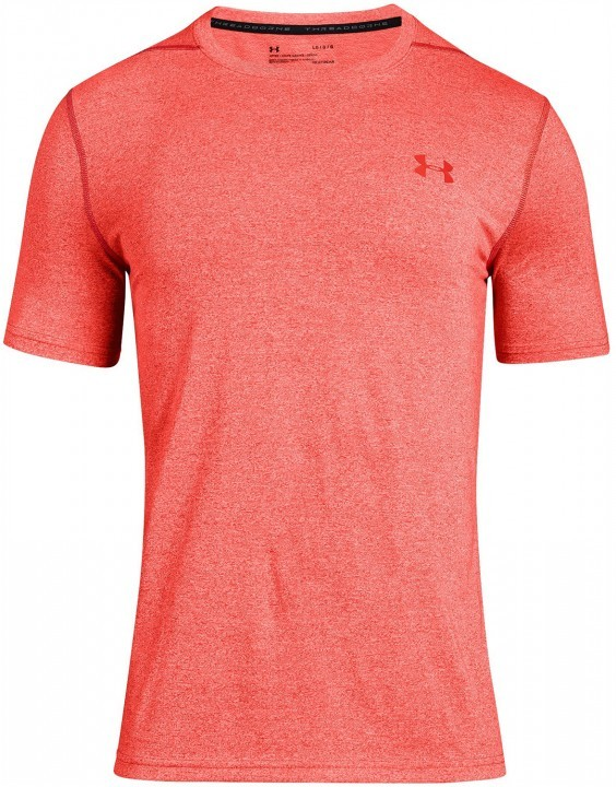 Under Armour Threadborne Fitted Short Sleeve Red