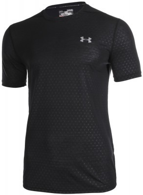koszulka męska Under Armour Threadborne FTD Emboss Short Sleeve Black