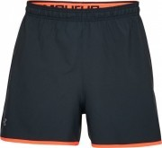 Under Armour Qualifer 5'' Woven Short Black Orange