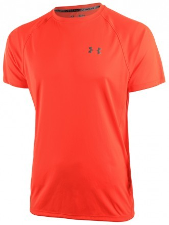 Under Armour HeatGear Run Short Sleeve Tee Orange