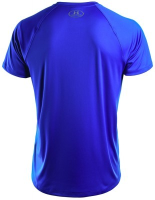 koszulka męska Under Armour HeatGear Run ShortSleeve Tee Blue