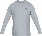koszulka męska Under Armour Long Sleeve Left Chest Grey