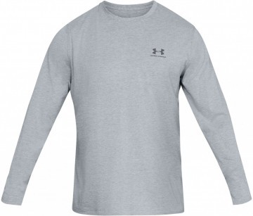 Under Armour Long Sleeve Left Chest Grey