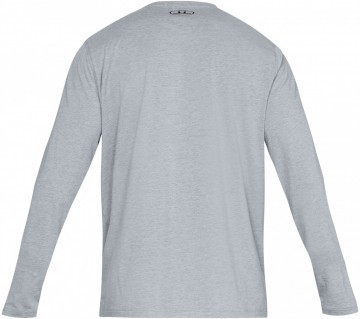 599ad1ea9 ... Under Armour Long Sleeve Left Chest Grey