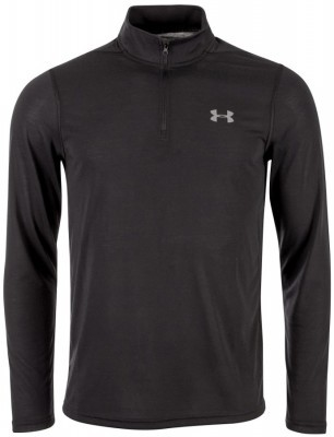 Under Armour Threadborne Fitted 1/4 ZIP Black