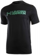 koszulka męska Under Armour Raid Graphic ShortSleeve Black/Green