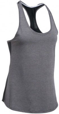 koszulka damska Under Armour Threadborne Run  Mesh Tank Gray