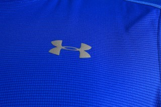 koszulka męska Under Armour CoolSwitch Run Short Sleeve Blue