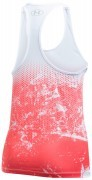 koszulka damska Under Armour Hex Delta Racer Tank White Red