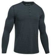 <span class=lowerMust>koszulka męska<br /></span> Under Armour Theardborne Knit Fitted Henley Grey