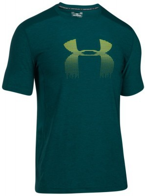 koszulka męska Under Armour Raid Graphic Green Yellow