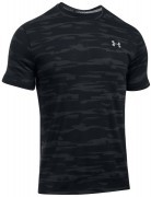 koszulka męska Under Armour Threadborne Run Mesh Short Sleeve Black