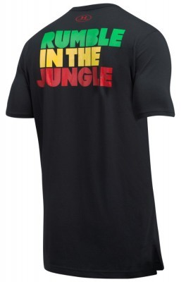 koszulka męska Under Armour ALI Rumble In The Jungle T-Shirt Black