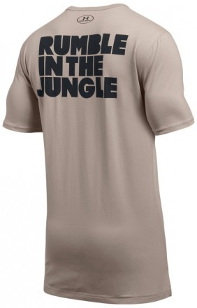 Under Armour ALI Rumble In The Jungle T-Shirt Tan