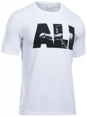 koszulka męska Under Armour ALI Rumble In The Jungle Tee White