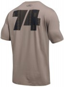 koszulka męska Under Armour ALI Rumble In The Jungle Zaire Tee Brown