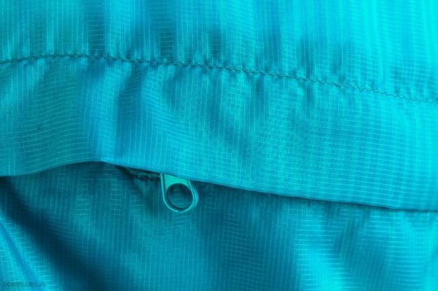 cb13b2eb13852 Asics FuzeX Packable Jacket Blue - Ubrania męskie do Badmintona ...