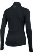 bluza damska Under Armour Run True Half Zip Black