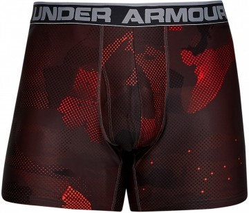 Under Armour Original Series Printed Boxerjock 2-pack Red / Black