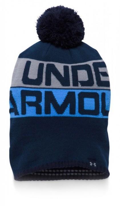 sale retailer 918de d7079 Under Armour Men s Retro Pom Beanie 2.0 Navy