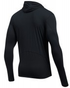 Under Armour Threadborne Run Mesh Hoodie Black