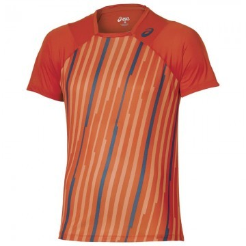 ASICS Athlete SS Top Orange