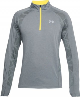 bluza damska Under Armour Threadborne Swft 1/4 Zip Grey Yellow