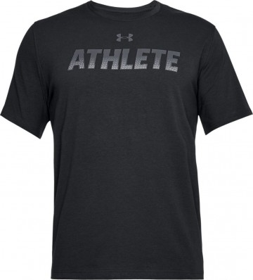 Under Armour Athlete Short Sleeve Black