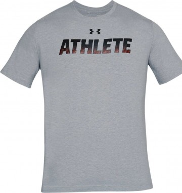 Under Armour Athlete Short Sleeve Grey