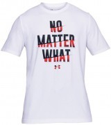 koszulka męska Under Armour No Matter What Short Sleeve White