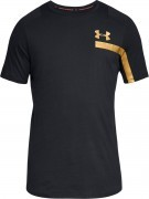 koszulka męska Under Armour Perpetual Short Sleeve Graphic Black Gold