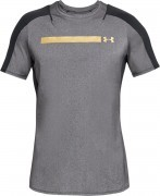 koszulka męska Under Armour Perpetual Fitted Short Sleeve Black