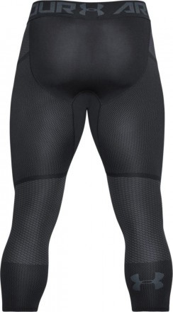 Under Armour Threadborne Seamless 3/4 Leg Black