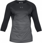 koszulka męska Under Armour Threadborne Vanish 3/4 Sleeve Black