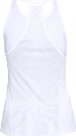 Under Armour Vivid Key Hole Back Tank Top White