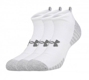 Under Armour Heatgear Tech No Show 3 Pack White