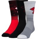 Under Armour Phenom 2.0 Crew Holida Red 3 Pack