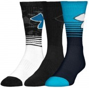 Under Armour Phenom 2.0 Crew Holida Blue White 3 Pack
