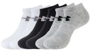 Under Armour Charged Cotton 2.0 NoShow 6 Pack