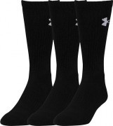 Under Armour Elevated Performance Crew 3Pack Black